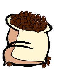 Bag Of Coffee Beans Clip Art