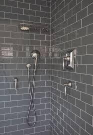 grey subway tile bathroom contemporary with contemporary bathroom