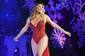 Rockefeller Christmas Tree Lighting Mariah Carey by Mariah Carey Is The Queen Of Christmas In New U0027here Comes Santa