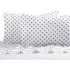 Walmart Bed Sheets by Polka Dot Reversible Bed In A Bag Bedding Set Walmart Com