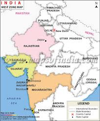 West India Map Zone Of