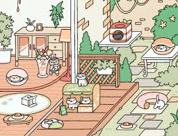 To The Full Backyard You Click Menu Then Other And Theres A Remodel Button Few Background Choices This One Here Is Rustic Style