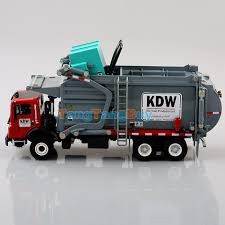 New 1:24 Scale Diecast Material Transporter Garbage Trucks KDW ...