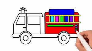 How To Draw Fire Truck Coloring Pages, Drawing For Kids | Rainbow ... Antique Fire Trucks Draw Hundreds To Town Park Johnston Sun Rise Education South Lyon Fire Department Kids Truck Fun Games Apk Download Free Educational Game For Easy Kid Drawing Pictures Wwwpicturesbosscom For Clip Art Drawn Marker 967382 Free Amazoncom Vehicles 1 Interactive Animated 3d How Draw A Police Car Truck Ambulance Cartoon Draw An Easy Firetruck Printable Dot Engine Dot Kids