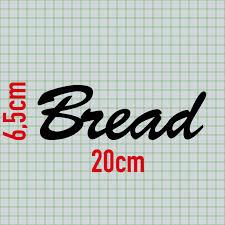 huis bread 20cm schwarz schriftzug wandtattoo aufkleber