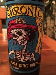 2015 chronic cellars sofa king bueno usa california central