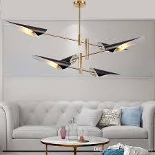 großhandel nordic wohnzimmer kronleuchter beleuchtung moderne restaurant kronleuchter kreative leuchten schlafzimmer pendelleuchte modell haus führte