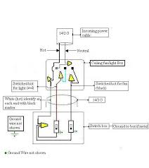 Harbor Breeze Ceiling Fan Switch Wiring Diagram by How Is A Ceiling Fan Wired