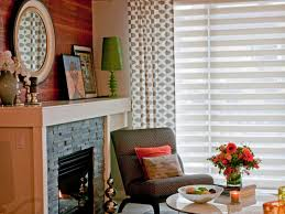 Living Room Curtain Ideas With Blinds by Large Kitchen Window Treatments Hgtv Pictures U0026 Ideas Hgtv