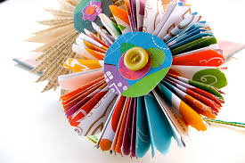 Pinwheel Handmade Flower Make A Paper