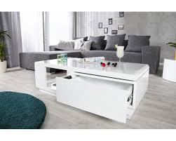 supérieur meuble de salon blanc laque 6 table basse blanche