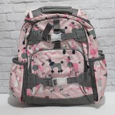 Pottery Barn Kids Large Mackenzie GRAY & PINK POODLE Backpack ... All About The Mackenzie Bpack Collection Pottery Barn Kids Navy Rhino Bpacks Shark 57917 Lavender Kitty Large Smartlydesigned For School Nwt Small Bpack Rainbow Balloons Back To With Review Youtube Kidsmackenzie Cool Dogs Aqualarge Choose Comfy And Stylish Navy Happy Horses Multicolour Heart Lunch Bag Girls Ballerina Glitter Small Bpackclassic