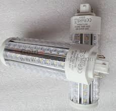 china g24 pl led light compatible with electronic ballast 4pin g24