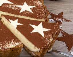 rezept für eine mascarpone käse torte ohne backen mit spekulatius und marzipan
