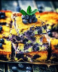 polenta kuchen mit heidelbeeren glutenfrei