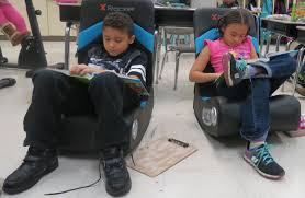 NAES Second Grade Teacher Uses Flexible Seating Classroom - New ... Debbieyoung2nd On Twitter Our Classroom Student Of The Week One What Would Google Do Newport Teacher Revamps Seating With Fxible Seating Nita Times Peace Out Handpainted Teacher Reading Rocking Chair Etsy 3700 Series Cantilever Chairs Schoolsin Buy Postura Plus Classroom Tts Options For Students Who Struggle Sitting Still Sensory Chair A Sensory For Austic Children Titan Navy Stack 18in Student 5 Real Things To Do When Is Failing Tame Desk Replaced By Ikea Couches Beanbags And