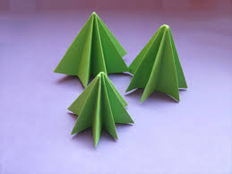 Stand Up The Christmas Tree With Point On Top And Adjust Folds If Needed Merry