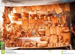 magasin ustensile cuisine magasin traditionnel en bois de marché en plein air d ustensiles de