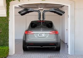 The Tesla Model X SUV Is ing In Early 2015 With Gull Wing Doors