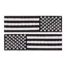 Subdued US Flag Patch Set For Combat Flip Flops Floperators