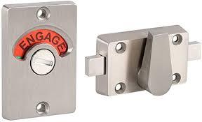 fdit latch markierung lock edelstahl bolt türschloss vacant engaged badezimmer wc wc wc privatsphäre partition tür schloss verriegelung