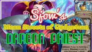 Dragon Priest Deck Hearthpwn by Hearthpwn D3ck Sp0tl Ght Sjow U0027s Dragon Priest Msog S33 Youtube