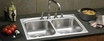 Overmount Double Kitchen Sink by Sinks Interesting Undermount Stainless Steel Kitchen Sink
