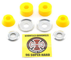 Independent Standard Cylinder Super Hard Skateboard Truck Bushings ... Any Caliber Ii Double Truck Mount Esk8 Mechanics Electric Ipdent Standard Cylinder Medium Hard Skateboard Truck Bushings Sabre Barrel Bushings Longboard Downhill 83a 86a Brakeboard Trucks Set Version 31 Wake2ocouk Aera K5 Precision Shop And Krux Krome Rose Gold Thunder 90a 94a 97a 100a Cushions X4 Rubbers Paris V2 180mm 50 Loaded Boards Longboards 184mm Satin Purple Original Skateboards Bolzen Launch 2016 Line Up Skslate Ronin Raw Cast Muirskatecom