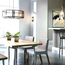 Long Chandelier Over Dining Table Kitchen Lighting Ideas Swag Pendant By