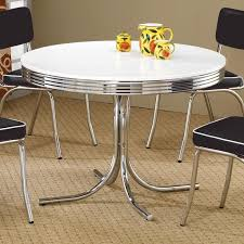 Table Retro Metal Chrome EM111863