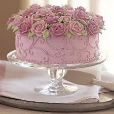 Brimming With Roses Cake The world s favorite flower is celebrated in all its glory Happy Birthday