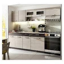cuisine en kit kit cuisine pas cher moreno 2m40 6 meubles kit cuisine moleculaire