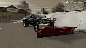 100 How To Plow Snow With A Truck FS19 2010 Chevy 3500 Long Bed DRW With Plow Mount V10