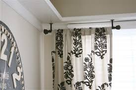 Jcpenney Curtain Rod Finials by Curtains Return Drapery Rod Lowes Curtain Rod Brackets 3 4 Inch