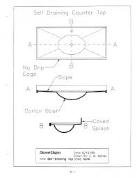 Dupont Corian Sink 810 by Specifications Countertops Shower Shapes