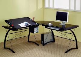 Modern Computer Desk L Shaped by L Shaped Desks You U0027ll Love Wayfair Pertaining To Contemporary