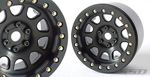 SSD RC 2.2 D Hole Beadlock Wheels (Black) (2)