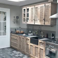 cuisine meuble bois meubles de cuisine indépendant et ilot maison du monde bois blanc