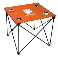 Rawlings Clemson Tigers Deluxe Tailgate Table Ncaa Chairs Academy Byog Tm Outlander Chair Dabo Swinney Signature Collection Clemson Tigers Sports Black Coleman Quad Folding Orangepurple Fusion Tailgating Fisher Custom Advantage Zero Gravity Lounger Walmartcom Ncaa Logo Logo Chair College Deluxe Licensed Rawlings Deluxe 3piece Tailgate Table Kit Drive Medical Tripod Portable Travel Cane Seat