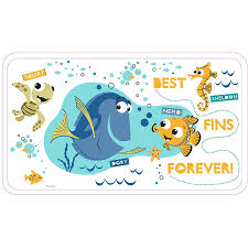 Bathtub Mat No Suction Cups by Finding Nemo Dory Bath Mat With Non Slip Suction Cups
