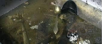 clogged kitchen sink food disposal garbage not working unclog