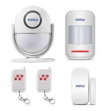 KERUI WP6 24GHz WiFi Wireless PIR Burglar Alarm System IOSAndriod APP Controlled DIY Complete Security Kit With Motion Detector Door Window Contact