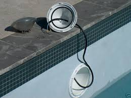 pool lights replacement iron