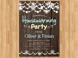 Housewarming Invitation New House Invite Moving Invitations