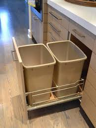 Kitchen Trash Can Cabinet Design Pictures Remodel Decor And Ideas