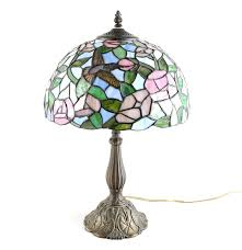 Tiffany Style Lamp Shades by Tiffany Style Stained Glass Hummingbird Lamp Ebth
