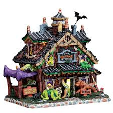Lemax Halloween Village Displays by Lemax Spooky Town Halloween Village Collection
