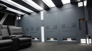 star wars themed home cinema for sale labour star and men cave