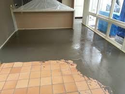 installing ceramic floor tile on concrete home design
