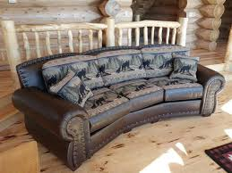 Stunning Rustic Leather Sofa With Sofas Miu Borse